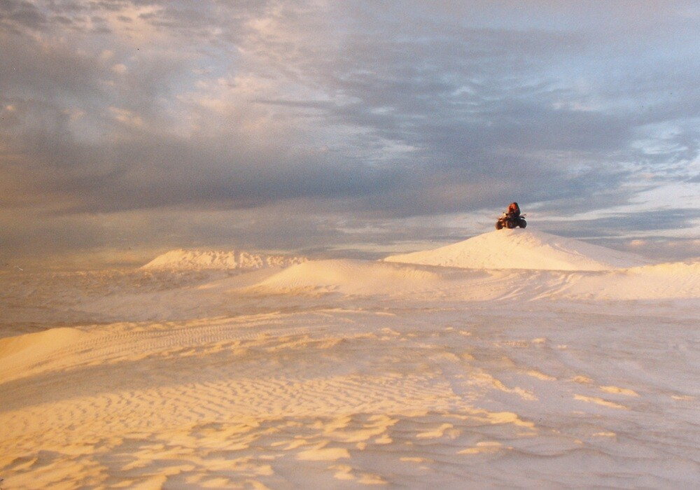 Sand Dune Sunset (Wedge Island) by Thea.T Photography