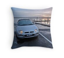 MGF at sunset, Barwon River Throw Pillow