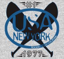 usa new york baseball tshirt by rogers bros by usanewyork