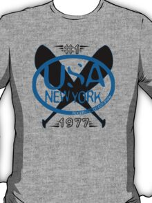 usa new york baseball tshirt by rogers bros T-Shirt