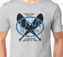 usa new york baseball tshirt by rogers bros T-Shirt