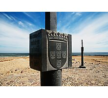 Cape Cross Monument Namibia... Photographic Print