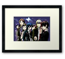 Protagonists Framed Print