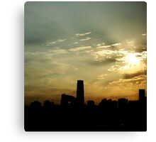Goodmorning Beijing Canvas Print
