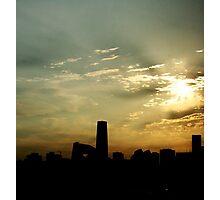 Goodmorning Beijing Photographic Print