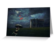 Obscured By Clouds... Greeting Card