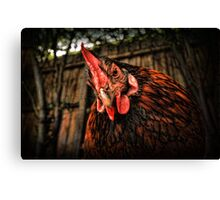 Cage is the cruelist word in the dictionary! Canvas Print