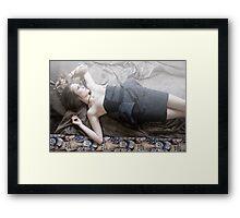 Fashion darling Framed Print