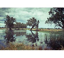 Rains in the King valley 1 Photographic Print
