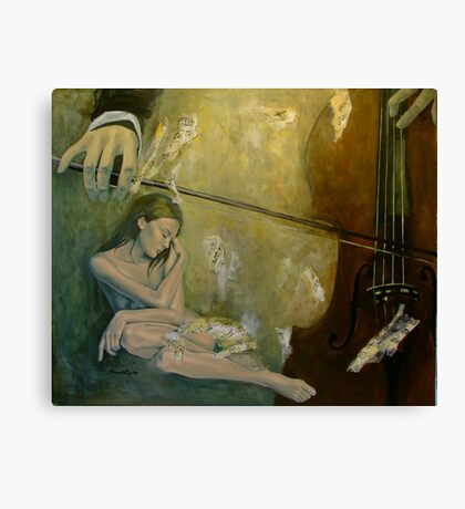 Adagio - Sentimental confusion Canvas Print
