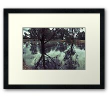 Rains in the King valley 2 Framed Print