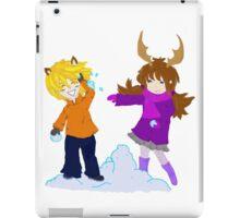 Snowball Fight iPad Case/Skin