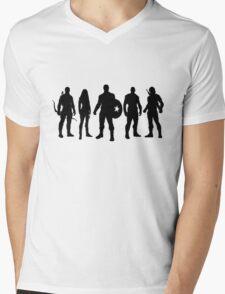 Team Steve Mens V-Neck T-Shirt