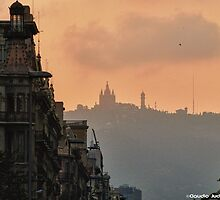 Barcelona purple by CJVisions