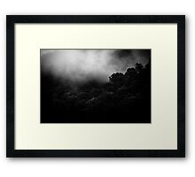 mountains after rain... Framed Print