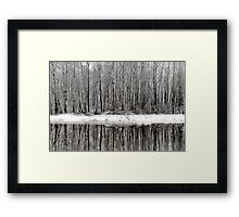 Whites of Hatzic Framed Print