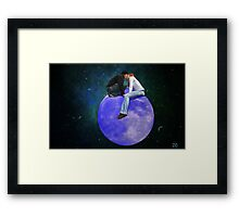 Lost in their own World  Framed Print