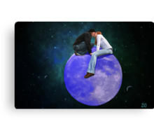 Lost in their own World  Canvas Print