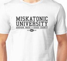 Miskatonic University - Black Unisex T-Shirt