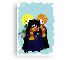 The Boys of Potter World Canvas Print