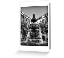 Frozen Fountain Greeting Card