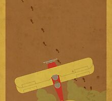 North By Northwest (Alternative movie poster) by Malc Foy