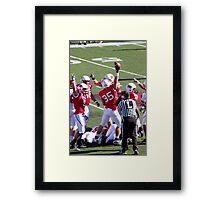 I Got The Ball, I Got The Ball! Framed Print