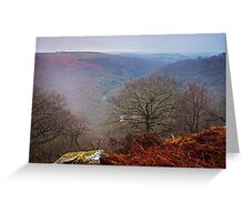 A Misty Morn Greeting Card