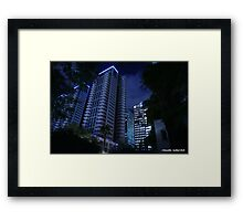 Cold City Framed Print