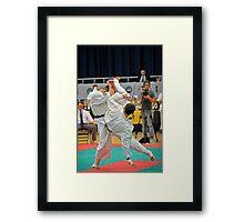 Ushiro Mawashi Jodan Framed Print