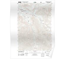 USGS Topo Map Oregon Rhododendron 20110809 TM Poster