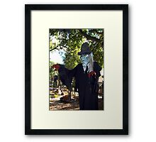 Welcome to my abode Framed Print