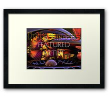 LB Featured Artist Graphic Framed Print