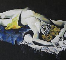 Abel dying by Margherita Bientinesi