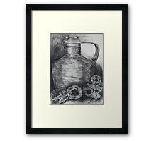 Coppo con papaveri Framed Print