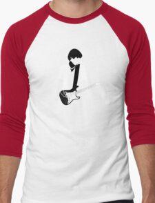 guitar in deep spaces Men's Baseball ¾ T-Shirt