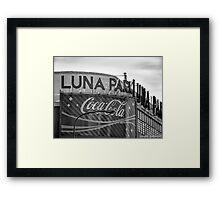 Buenos Aires - Luna Park Framed Print