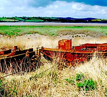 rusty boats by skaterfromglos