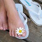 MY SISTER'S FOOT by kathibook