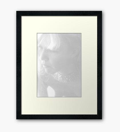 A Pale Reflection Framed Print