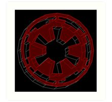 Star Wars Imperial Crest - 2 Art Print