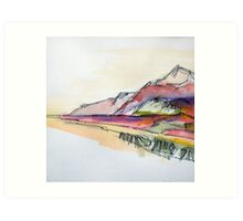 Albascape II - Scottish Highlands Art Print