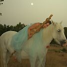 Loune horse riding by Auquier