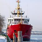 Canadian Coast Guard ( Icebreaker ) by Barry W  King