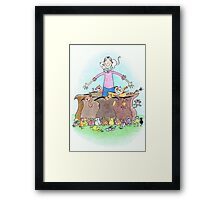 How Many Were Going To St. Ives? Framed Print