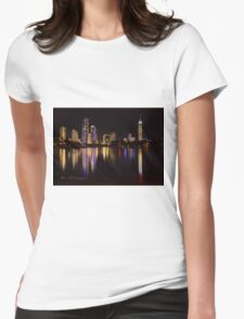 Reflections of the Gold Coast Womens Fitted T-Shirt