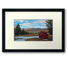 View of Kezar Lake & The Foothills Framed Print