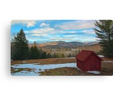 View of Kezar Lake & The Foothills Canvas Print