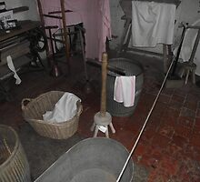 Wash Day Blues - Church Farm Museum, Skegness by Stephen Willmer