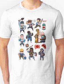 Team Fortress 2 / SD All Class T-Shirt